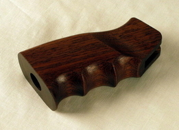 wood ar15 pistol grip